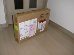 ThinkPad W540輸送用外箱